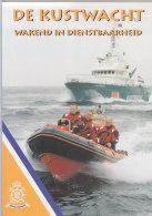 De Kustwacht, Niederländische Küstenwache, 6-seitige Broschüre DinA 4, Um 1995 - Cataloghi