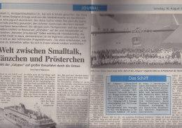 Rotterdams Dagblad 5.SEP 1997: Extraausgabe Zu Den Wereldhavendagen - Schiffe