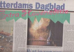 Rotterdams Dagblad 5.SEP 1997: Extraausgabe Zu Den Wereldhavendagen - Boats