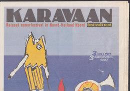 KARAVAAN, Festivalzeitung Des Zomerfestival In Nord-Holland Nord 1997 - Reise & Fun