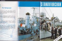 Die Schiffe Der STANAVFORCHAN, Faltprospekt Um 1980 - Schiffe
