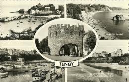 REGNO UNITO  WALES  PEMBROKESHIRE  TENBY  Multiview - Pembrokeshire