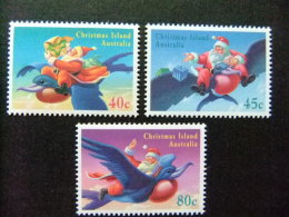 CHRISTMAS ISLAND 1995 NOEL Yvert Nº 416 / 418 ** MNH - Christmas Island