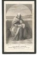 N46.  EERWEERDEN  HEER CAROLUS  VLEUGELS - Kanunnik-Regulier  Van AVERBODE - °NOORDERWYCK 1845 / +VEERLE 1900 - Images Religieuses
