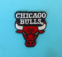 CHICAGO BULLS Patch * NBA Basketball Club Basket-ball Sport Ecusson Baloncesto Pallacanestro Flicken Toppa Parche - Chicago Bulls