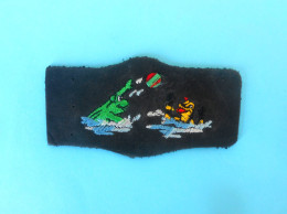 CROATIAN WATER POLO CLUB MLADOST ( FROGS ) Patch Waterpolo Wasserball Frog Grenouille Frosch Rana Ecusson Flicken Toppa - Swimming