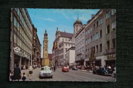 AUGSBURG - Untere Maximilianstrasse Mit Rathaus Und Perlachturm - Augsburg