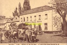CPSM BRUXELLES ROTISSERIE DE L'ANCIENNE BARRIERE AVEC SA REPUTATION GASTRONOMIQUE - Cafés, Hôtels, Restaurants