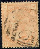 GREAT BRITAIN   69, Used, No Hidden Damage, SCV$ 500, RARE   (gb069-1,   S.G   152,   Pl#  15,  Vermilion..[16-ert - 1840-1901 (Victoria)