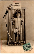 ILLUSTRATEUR BERGERET. NANCY. PETITS AMOURS. ENFANT. 1906. - Bergeret