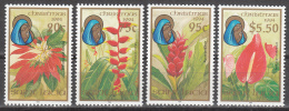 St Lucia    Scott No.  1010-13    Mnh   Year  1994 - St.Lucia (...-1978)