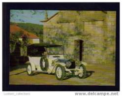 POSTCARD CARS CAR AUTOMOBILE ROLLS ROYCE AUTOMOBILES VOITURE VOITURES - Taxi & Carrozzelle