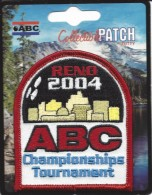 Cloth Patch From The 2004 ABC Championships Tournament In Reno, NV USA - Bowling