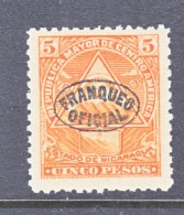 NICARAGUA  O 128   *      No  Wmk.  1898  Issue - Nicaragua