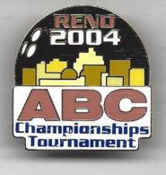 ABC National Championships Tournament 2004 Reno, NV Pin - USA - Bowling
