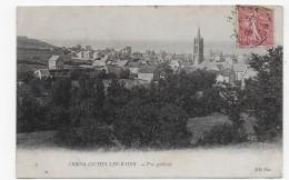 ARROMANCHES LES BAINS EN 1906 - N° 2 - VUE GENERALE - BEAU CACHET - CPA VOYAGEE - Arromanches