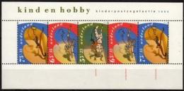 """Niederlande MiNr. Bl. 34 ** """"Voor Het Kind"""" Das Kind Und Seine Hobbies - 1980-... (Beatrix)"""