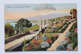 Taormina - Giardino Duca Di Bronte, Sicilia, Italy - Italy