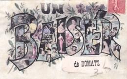 89 - Yonne -   Un Baiser  De DOMATS - Autres Communes