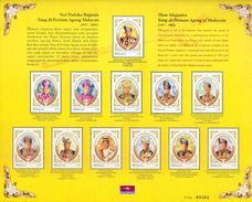 Malaysia 2002 S#881 Agong Sheetlet MNH Ruler Royalty - Malaysia (1964-...)