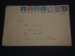 DANEMARK - Enveloppe Pour La France ( Haute Vienne) En 1936 , Passé Par Wien ( Erreur De Destination) - A Voir - L 707 - 1913-47 (Christian X)