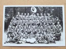 Muziekkorps / Fanfare ( Te Identificeren / Identificier ) Anno 19?? ( Zie Foto Voor Details ) !! - Altri