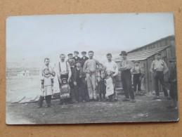 Groep Mannen & Kinderen ( Te Identificeren / Identifiy ) Anno 1914 Stamp Osterreich ( Zie Foto Voor Details ) !! - Sports