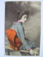 Cpa, Très Belle Carte, Japon, Femme Japonaise - Unclassified