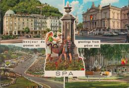 Belgien - SPA - Views - Racing - Cars - Nice Stamp - Spa