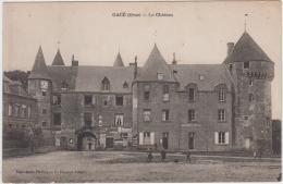 GACE LE CHATEAU 1922 - Gace