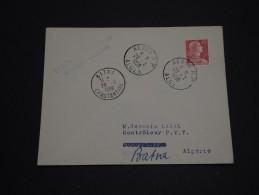 FRANCE / ALGÉRIE - 1er Vol  Alger / Batna En 1956 - A Voir - L 726 - Covers & Documents