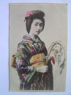 Cpa, Très Belle Carte, Japon, Femmes Japonaises En Costume Traditionel - Unclassified