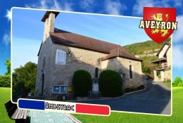 Postcard, Communes Of France, Ambeyrac, Aveyron - Carte Geografiche