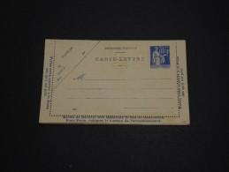 FRANCE - Entier Postal Type Paix Non Voyagé - A Voir - L 739 - Postal Stamped Stationery