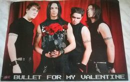 POSTER BULLET FOR MY VALENTINE/NIGHTWISH/M.SHADOWS - Manifesti & Poster