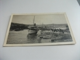 NAVE SHIP  TRAGHETTO ABBAZIA DAMPFERANKUNFT FOTOGRAFICA - Chiatte, Barconi