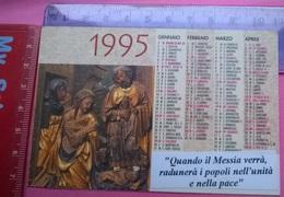 1995 ASS.IT AMICI DEL PRESEPIO TORINO PARR. S.VINCENZO DE'PAOLI - Calendari