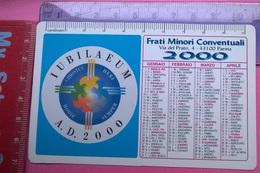 CALENDARIETTO 2000 FRATI MINORI CONVENTUALI PARMA - Calendari
