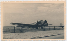 Photo Von Flugzeug Aus Den 50er Jahren - Photographie