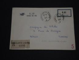 FRANCE - Enveloppe En Recommandée Des Cours D'instructions Ambulants En 1970 - A Voir - L 752 - Corsi Di Istruzione