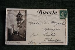 TUNISIE - BIZERTE - Magnifique Lettre De 1952 - Tunisie (1956-...)