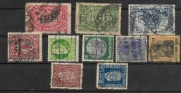 Deutschland Briefmarken Firmenlochungen  Germania Francobolli Perfin