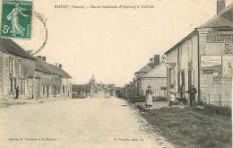 51 - MARNE - Plivot - Route Nationale D'épernay à Chalons - France