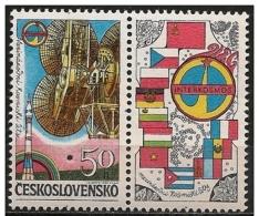 """Cecoslovacchia/Czechoslovakia/Tchécoslovaquie: Specimen, Programma, """"Intercosmos"""" - Europe"""