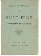 GAREOULT . SAINT FELIX - Religión