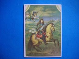Le Grand Roi Louis XIV  Couronné Par La Victoire  -  Peinture   : MIGNARD - Histoire