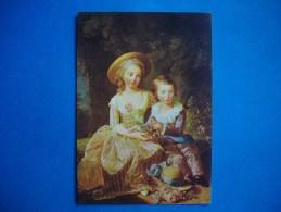 Portrait Du Dauphin De France Et De Sa Soeur Madame Royale   -  Peinture   : VIGEE LEBRUN - Histoire