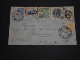 BRESIL - Enveloppe En Express En 1938 Affranchissement  Plaisant - A Voir - L 769 - Brésil