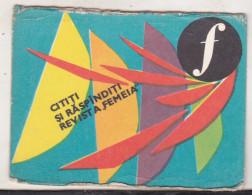 Romanian Small Calendar -1967 - Revista Femeia - Woman Magazine - Calendriers