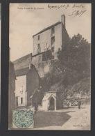 DF / 36 INDRE / LA CHATRE / VIEILLE PRISON / ANIMÉE / CIRCULÉE EN 1905 - La Chatre